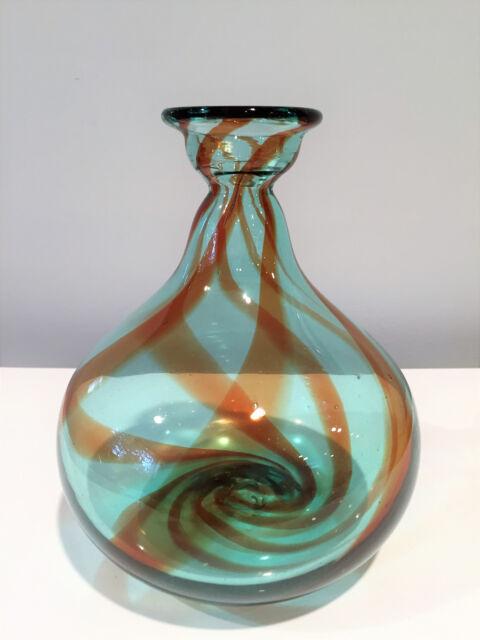 Blenko Glass Small Balloons Vase #828S by Don Shepherd