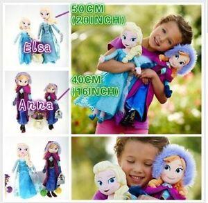 New-Frozen-Elsa-amp-Anna-princess-stuffed-Soft-plush-toy-doll-for