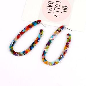 Charm-Women-Acrylic-Geometric-Pendant-Dangle-Drop-Statement-Earrings-Jewelry