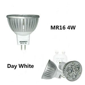 10x-Non-dimmable-MR16-4W-Jour-blanc-Ampoule-LED-Projecteur-Lampe-Haute-puissance