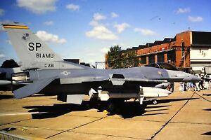 3-753-General-Dynamics-F-16-United-States-Air-Force-SP-81-AMU-Kodachrome-SLIDE