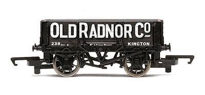 """Hornby :- R6662 4 Plank Open Wagon """" Old Radnor """" Brand New & Boxed Gli Ordini Sono Benvenuti"""