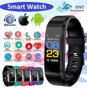 Smart Watch Sports Tracker Activity Monitor Blood Pleasure Heart Rate Fit-bit