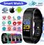 thumbnail 1 - Smart Watch Sports Tracker Activity Monitor Blood Pleasure Heart Rate Fit-bit