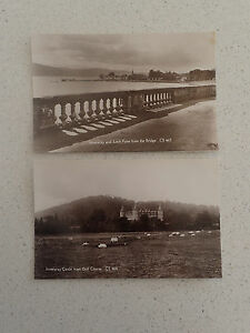 Vintage-Postcard-Set-of-Two-Inveraray-CS-463-CS464-107-108
