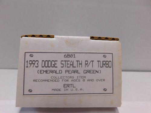 1993 DODGE STEALTH R//T TURBO PROMO MODEL 1.24 SCALE IN GREEN