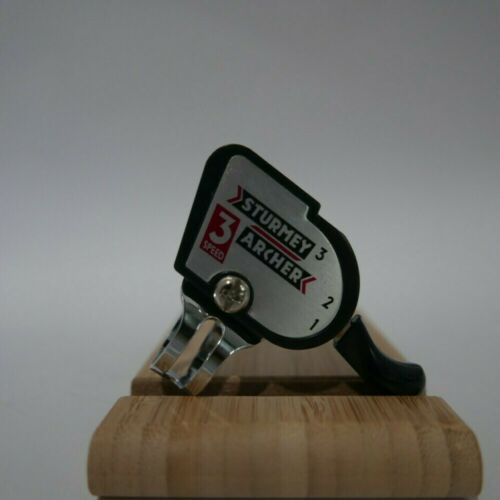 Sturmey Archer Brompton Bicycle Retro Classic 3 speed thumb shifter handlebar