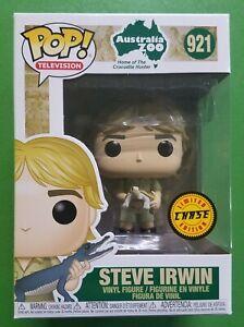 Funko-POP-Steve-Irwin-Turtle-Chase-921-Vinyl-Figure-Crocodile-Hunter