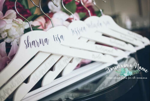 Wedding Bridal Coat Hanger perfect for Bride, Bridesmaid, Groom etc.