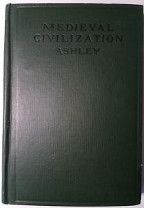 First-Lady-Lucretia-Garfield-owned-book-Medieval-Civilization-1916-author-signed