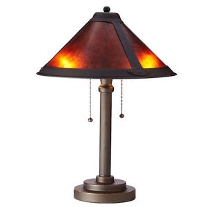 new mica shade table lamp ebay. Black Bedroom Furniture Sets. Home Design Ideas