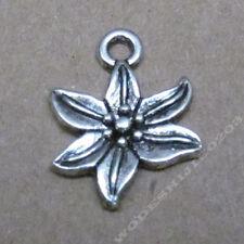 20pc Retro Tibetan Silver clock Charm Beads Pendant accessories    PL485