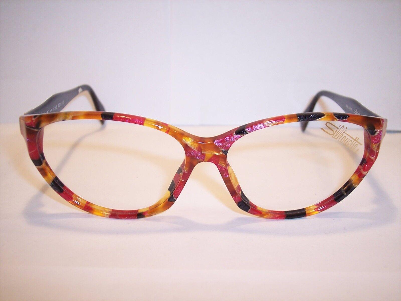 Damenbrille Eyeglasses by SILHOUETTE Austria 100% Original-Vintage 90er | Moderate Moderate Moderate Kosten  | Schön In Der Farbe  | Umweltfreundlich  3cf4db