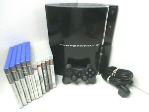 Sony-Playstation-3-PS3-Backwards-Compatible-Console-CECHC03-1-Control-10-Games