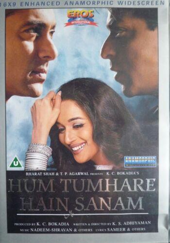 1 of 1 - HUM TUMHARE HAIN SANAM - BOLLYWOOD DVD - Eros Bollywood indian movie dvd.