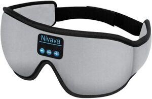 Nivava-S8-Sleeping-Headphones-Bluetooth-5-0-Wireless-3D-Eye-Mask-for-Side-Sleepe