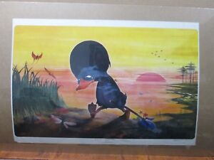Vintage-The-Ugly-duckling-animation-Poster-Inv-G1414