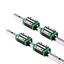 miniatuur 3 - 2X Linear Rail HGH15-300mm/1500mm Set 4X HGH15CA Bearing Block Carriage HGR15