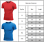 UK Men Plain Compression Base Layer Short Sleeve Tops T-Shirt Stretch Muscle Tee