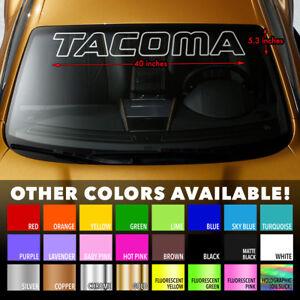 Premium-Windshield-Banner-Vinyl-Decal-Sticker-for-Tacoma-Toyota-TRD-Pro-SR5