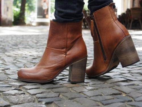 HUB Footwear Schuhe MALLET L81 brown Damen Stiefeletten Echtleder Ankle-Boots