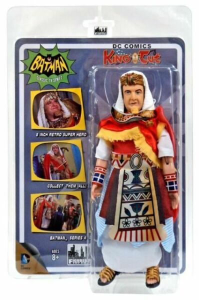 Batman Classic TV Series Boxed 8 Inch Action Figures Surgeon Variant King Tut