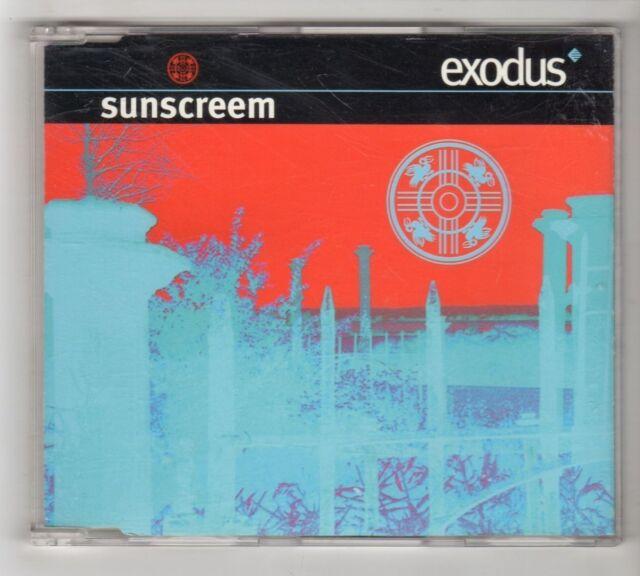 (HC110) Sunscreem, Exodus - 1995 CD