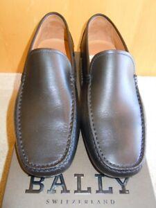 BALLY NIB Gucci-Black Calf Leather Mens