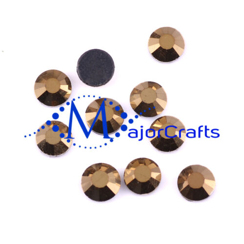 Hotfix Rhinestones Gems C53 1440pcs Metallic Gold 2mm ss6 Flat Back Glass DMC A