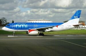 Details about INFLIGHT200 IF320BM0419 1/200 BMI BRITISH MIDLAND AIRBUS  A320-200 G-MIDS W/STAND