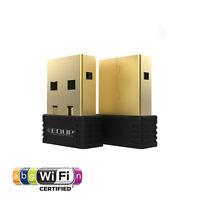 USB 2.0 2.4G 802.11n 150Mbps Wireless-N Nano WiFi Adapter For MAC Linux WIN 7 8