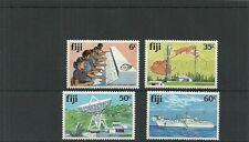 FIJI SG615-618 TELECOMMUNICATIONS SET MNH