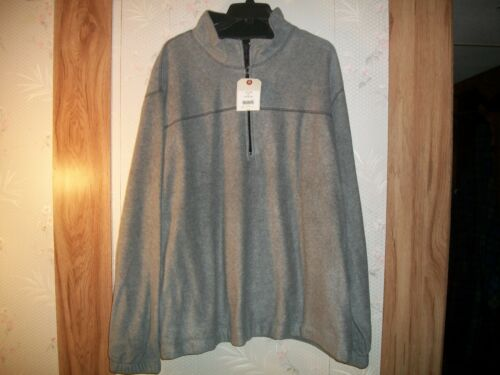Saddlebred Men/'s 1//4 Zip Fleece Pull Over Jacket size XL and XXL Retail $36 NWT
