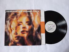 DEBORAH HARRY ~ DEBRAVATION ~ CHR 6033 ~ NEAR MINT 1993 UK VINYL LP ~ TOP AUDIO