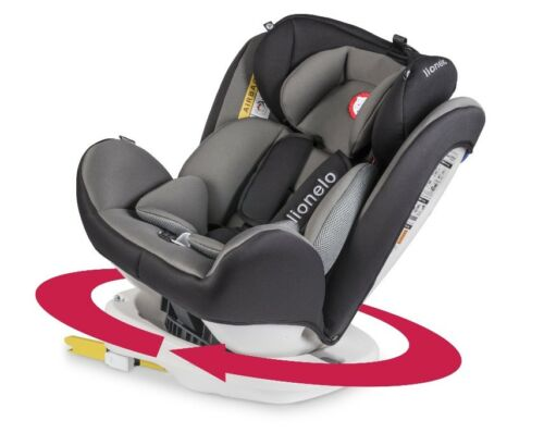 Baby Car Seat Isofix 360° age from birth to 36kg extra accessories Lionelo