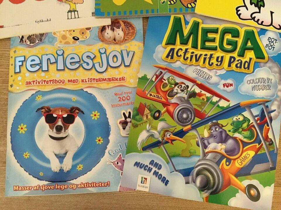 Andet legetøj, Aktivitetsbøger