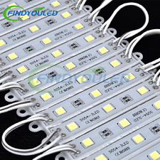 44FT=100PCS cool white 5054 (5050) 3LED Module Store front window Light outdoor