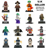 Suicide Squad Minifigure Deadshot Harley Quinn Joker DC Mini Figure Fits Lego