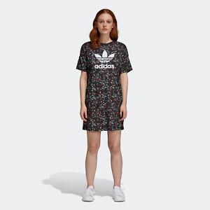 Adidas-Originals-Floral-Multicolor-Dress-Sizes-XS-S-M-L-Trefoil-DH4271