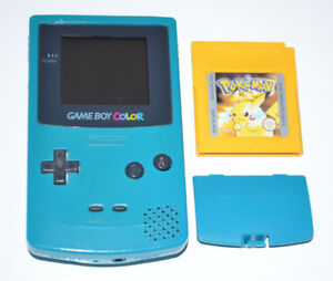 Nintendo Game Boy Color Pokemon Gelbe Edition Ebay