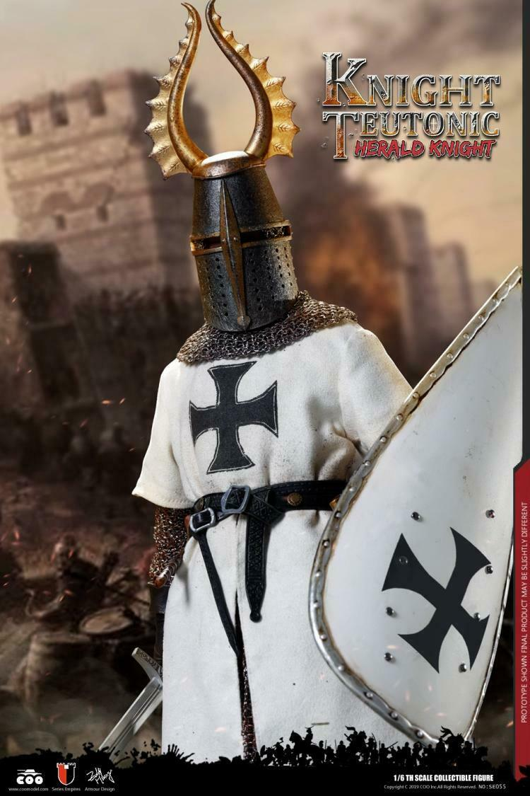 COOMODEL SE055 1 6 Series Of Empires Herald Of Knights Teutonic Diecast Figures