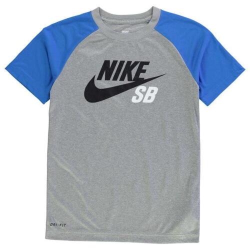 7 /& 7 NUOVO 2019 Nike QTT Colore Block T-shirt Junior Ragazzi T-shirt Età 2 13