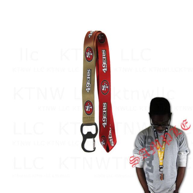 NFL Chicago Bears Reflective Carabiner Lanyard Keychain
