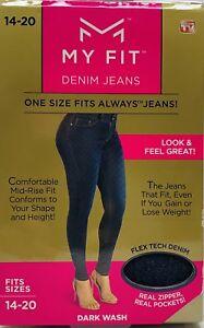 de8090b97b NEW My Fit Jeans -As Seen On TV- Sz-14-20 Women s Stretch Denim ...