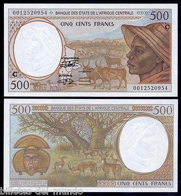 B-D-M CENTRAL AFRICAN STATES CONGO 500 FRANCS 2000 PICK 101Cg SC UNC