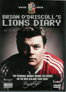 Brian-O-039-Driscolls-Lions-Diary-Behind-the-Scenes-New-Zealand-Tour-2005-Rugby-DVD