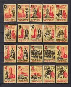Série étiquettes Allumettes Belgique Villes Belge 1IAAyvch-08062719-726178109