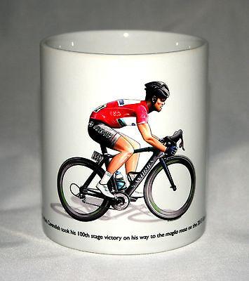 Cycling Mug. Mark Cavendish, Giro d'Italia 2013