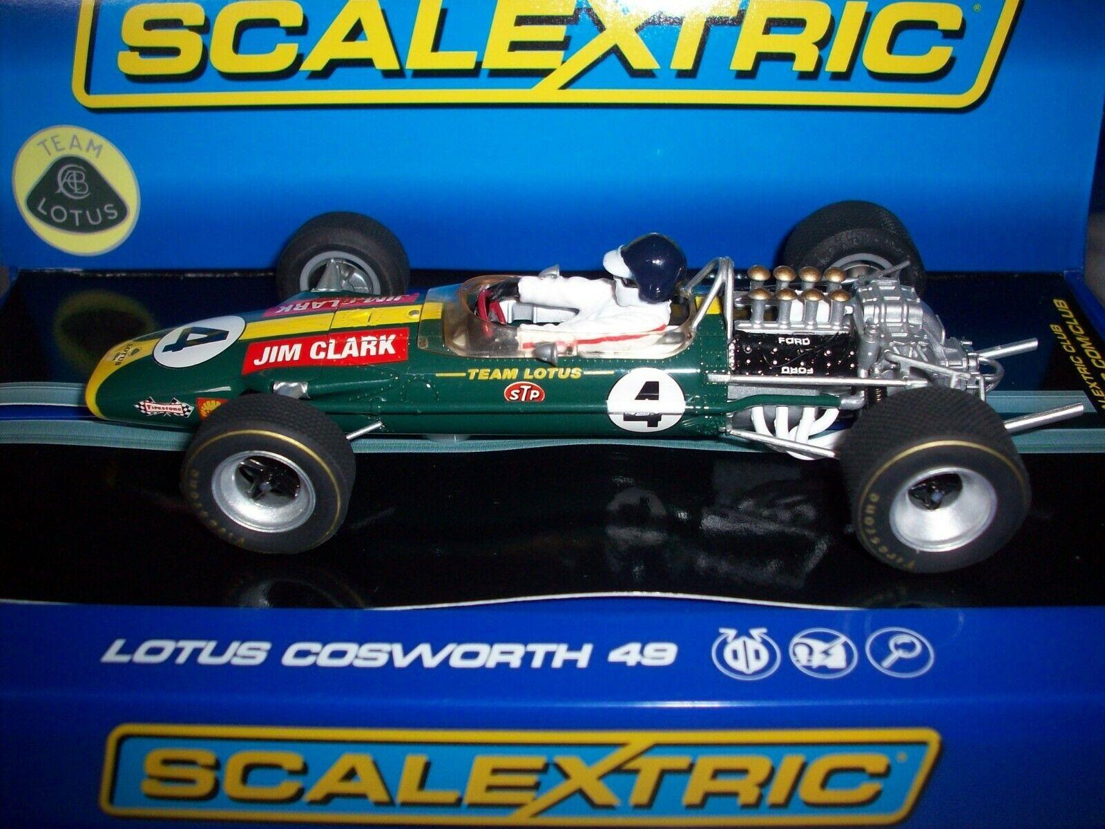 Scalextric C3206 Team Lotus 49 Jim Clark 1968 Kyalami NMIB