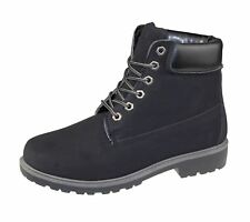 Womens High Top Boots Hiking Desert Trail Combat Ladies Ankle Work Lace Up Biker Shoes Size Bertie T